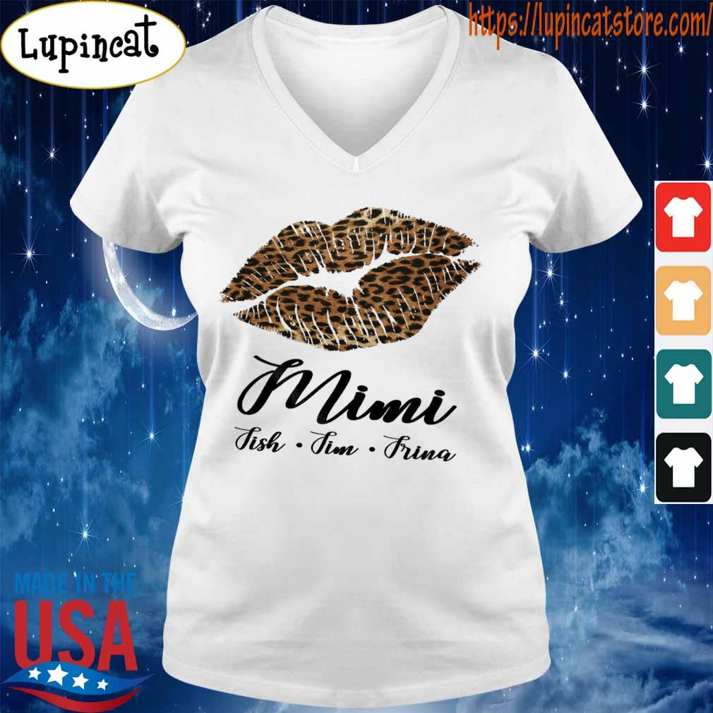 Lips Fmimi Fish Fim Frina s V-neck