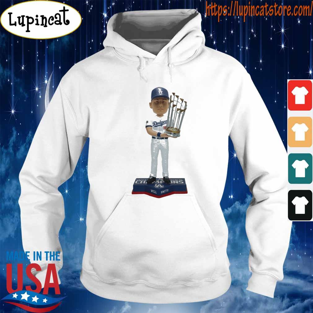 Los Angeles Dodgers 2020 World Series Champions MemBer Will Smith Shirt Hoodie
