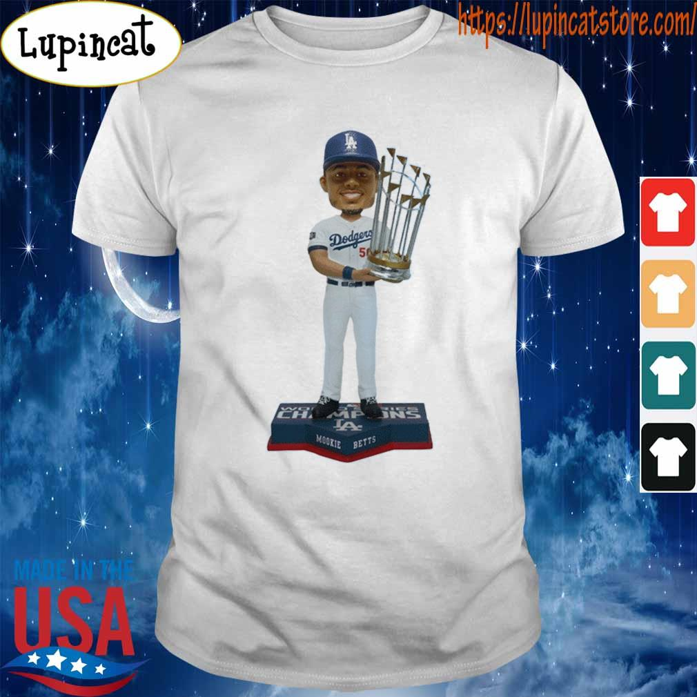 Mookie Betts Los Angeles Dodgers 2020 World Series Champions shirt