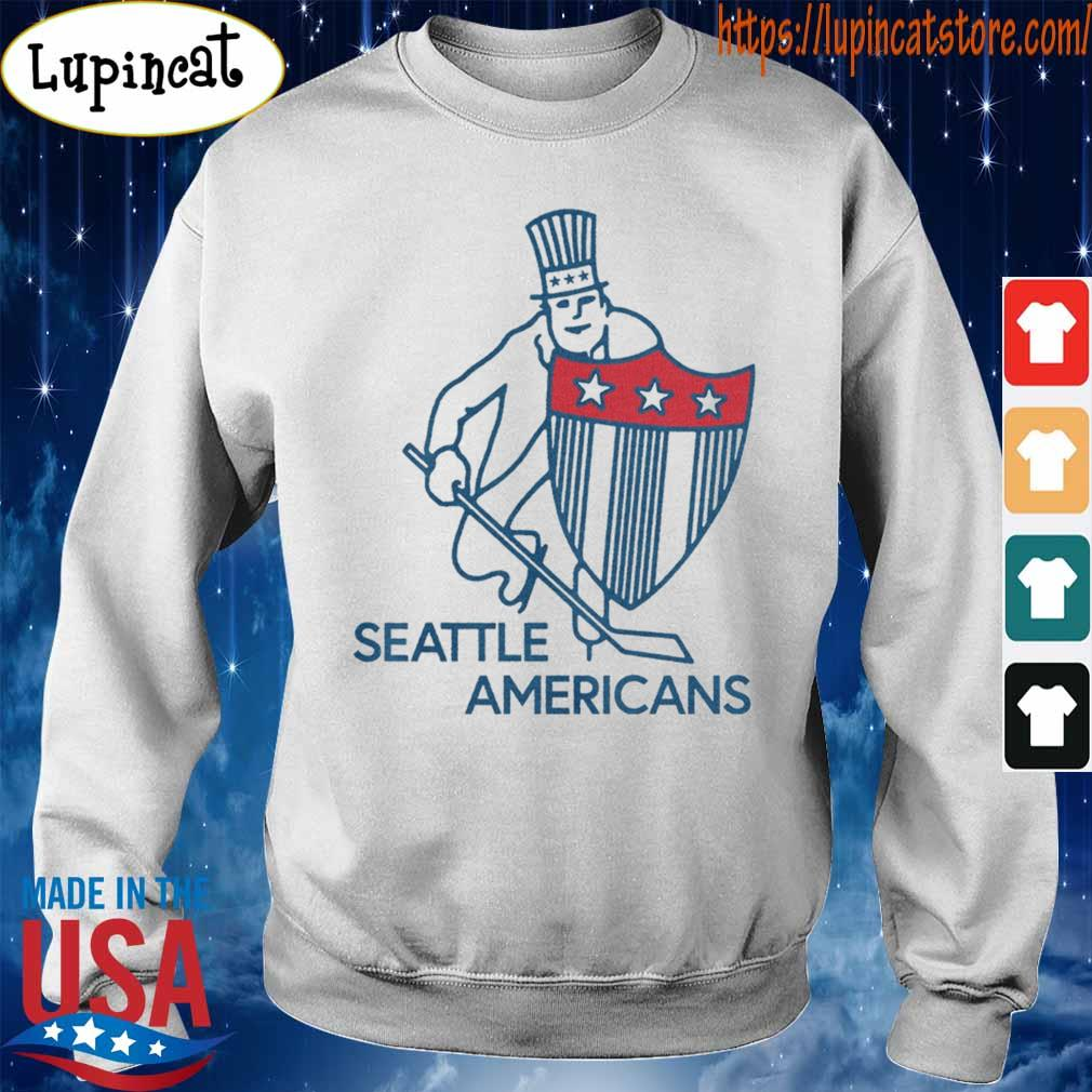 Seattle Americans Hockey Shirt Sweatshirt
