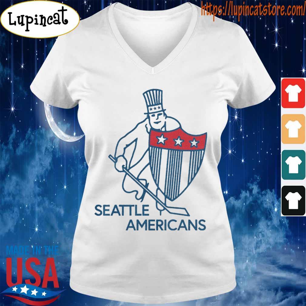 Seattle Americans Hockey Shirt V-neck