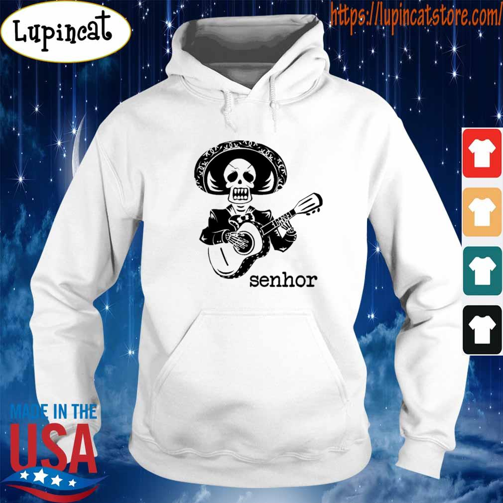 Skeleton Mariachi Guitar Senhor s Hoodie