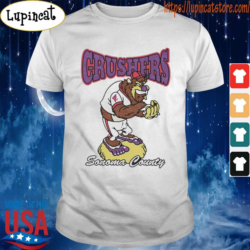 Sonoma County Crushers Baseball T-Shirt