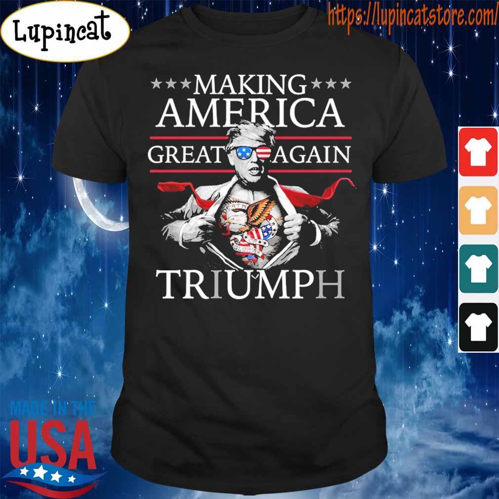 Donald Trump Superman Funny Shirt Hoodie Sweater Long Sleeve And Tank Top