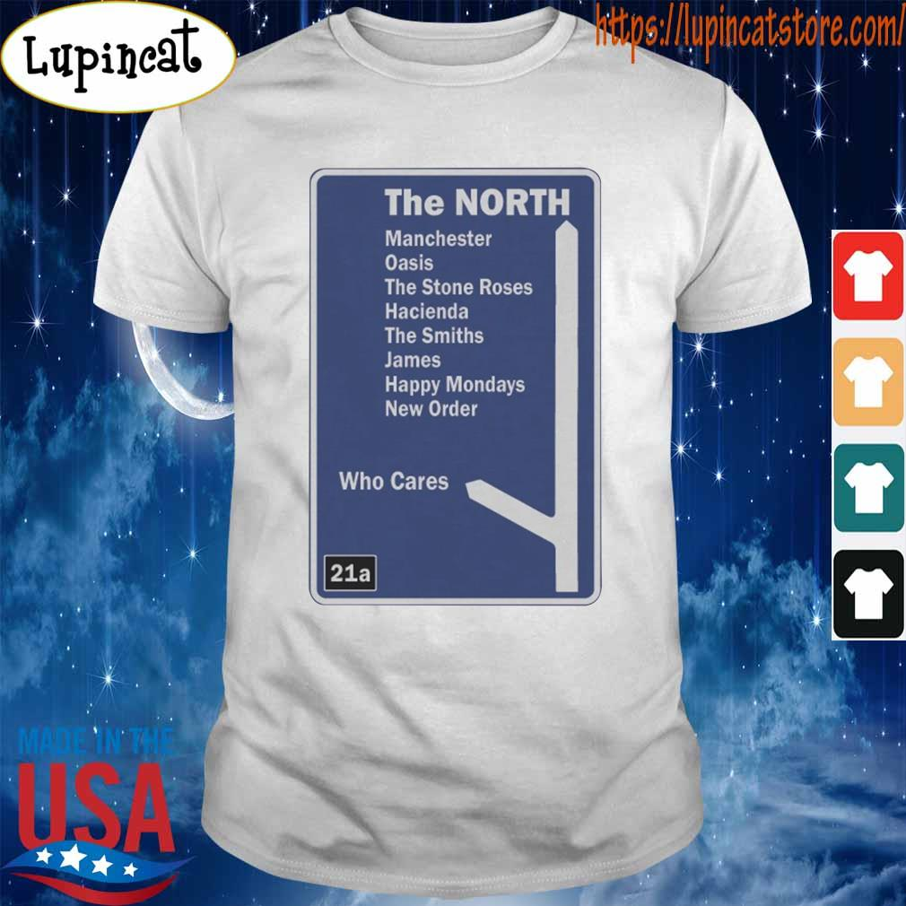 The North Manchester Music Motorway Sign shirt