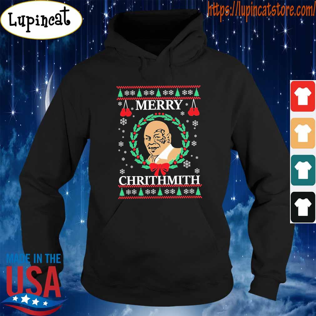 Ugly Christmas Merry Chrithmith s Hoodie