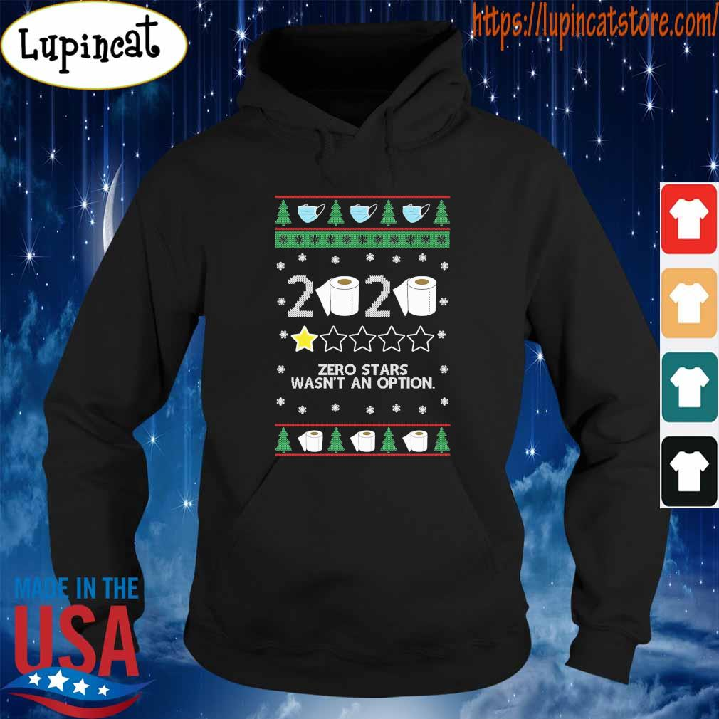 Ugly Christmas Zero stars wasn't an option toilet paper 2020 s Hoodie