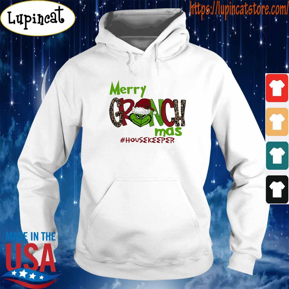 Merry Grinchmas #Housekeeper Christmas s Hoodie