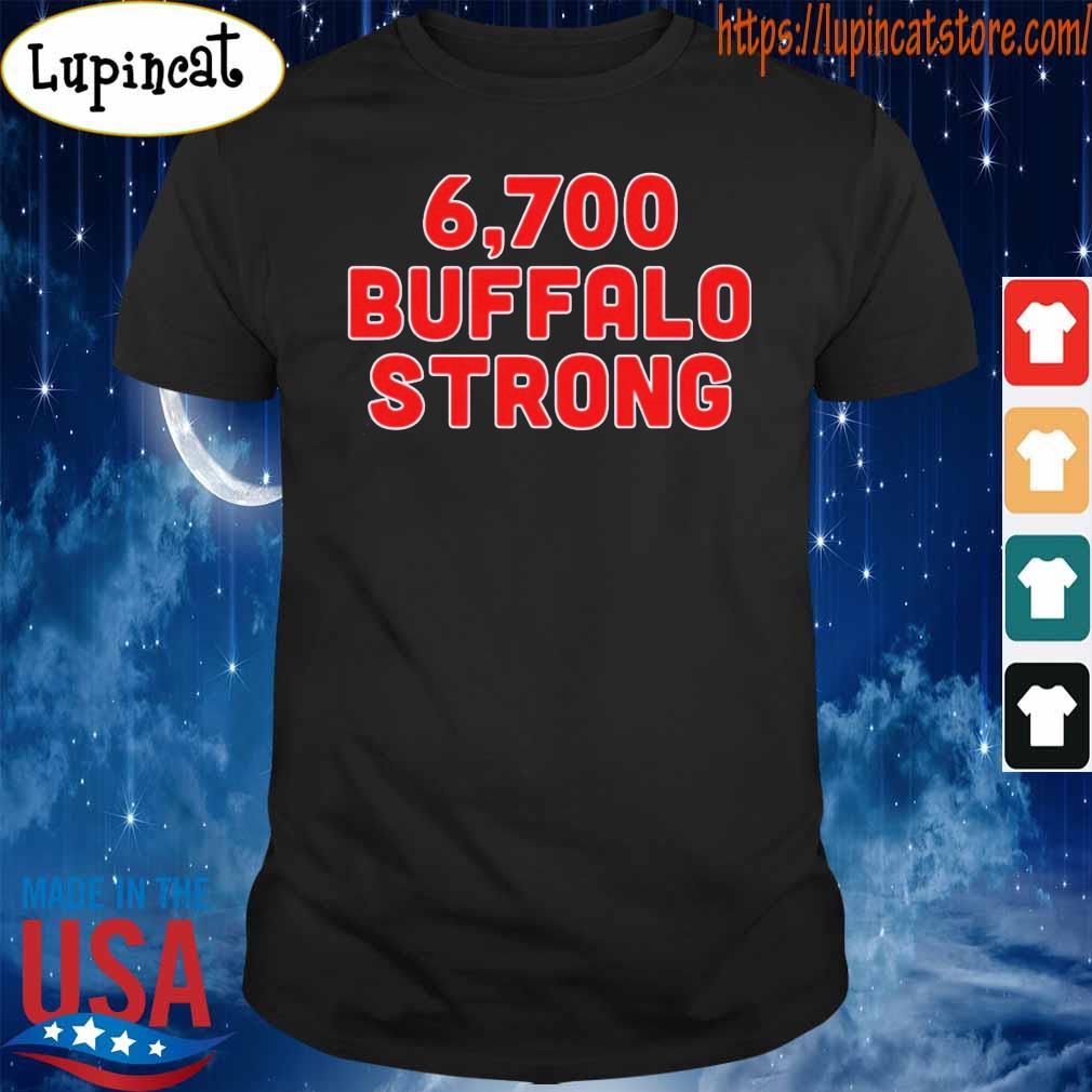 6,700 Buffalo Strong Shirt