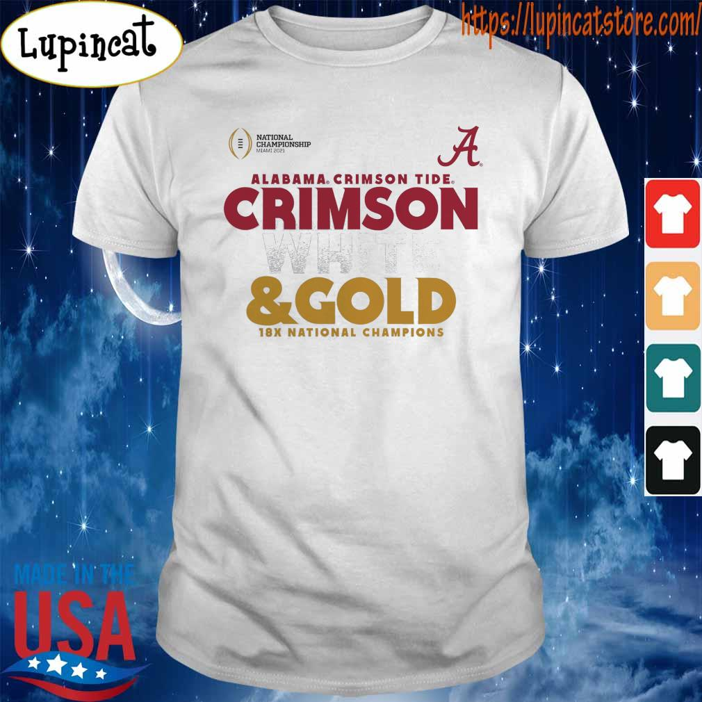 Alabama Crimson Tide Fanatics Branded College Football Playoff 2020 National Champions Hash shirt