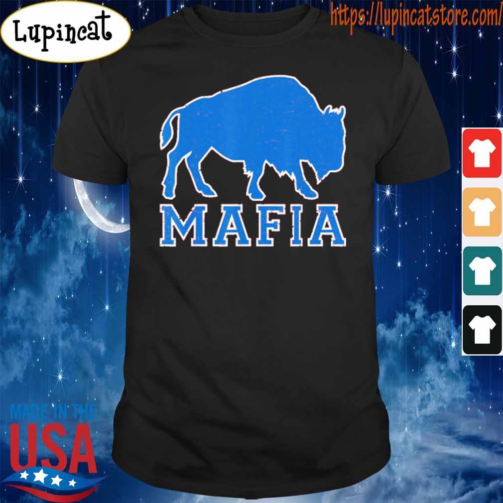 Bills Fan Mafia Buffalo Sports Fan Football T-Shirt