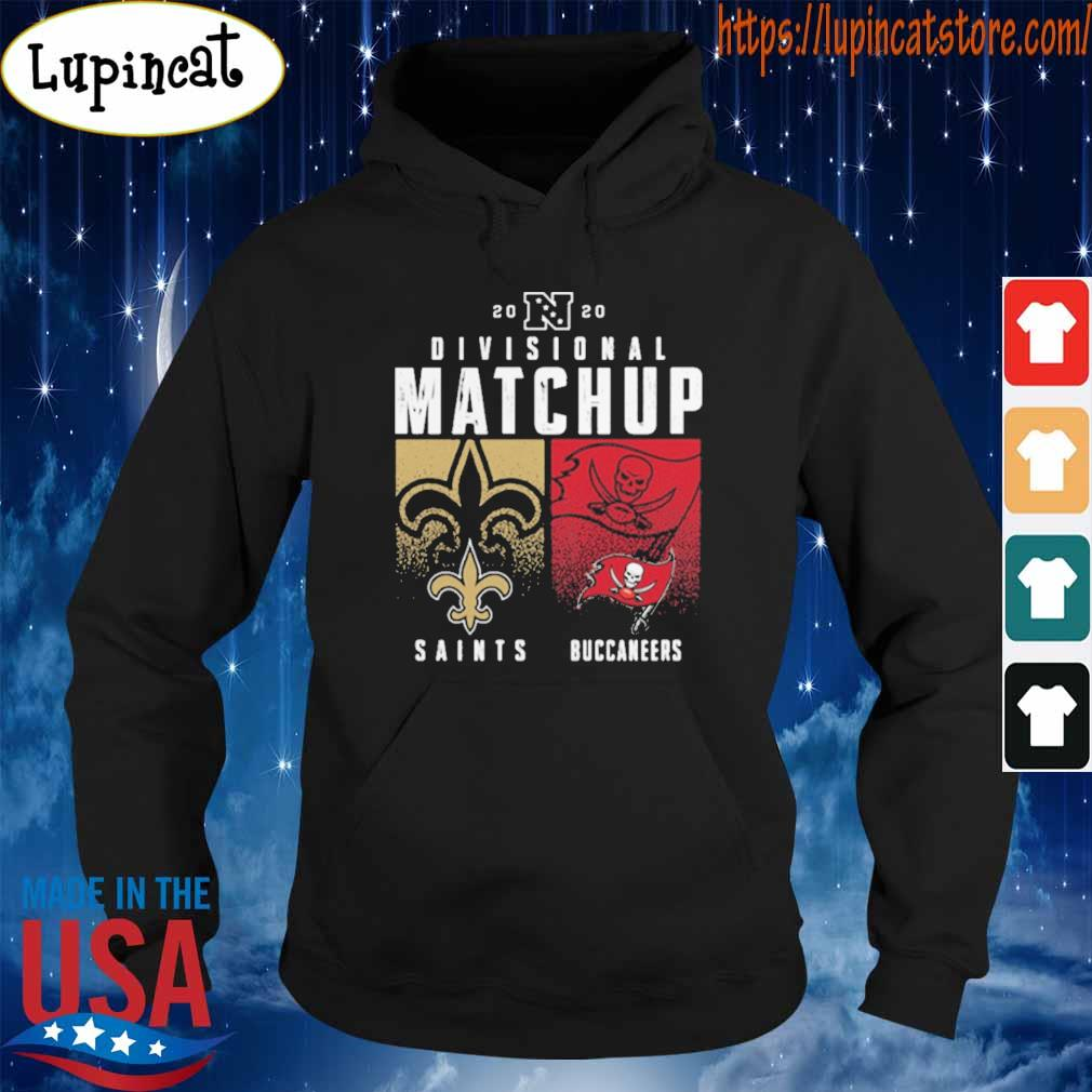 New Orleans Saints VS Tampa Bay Buccaneer 2020 Nfl Playoffs Divisional Matchup tee s Hoodie