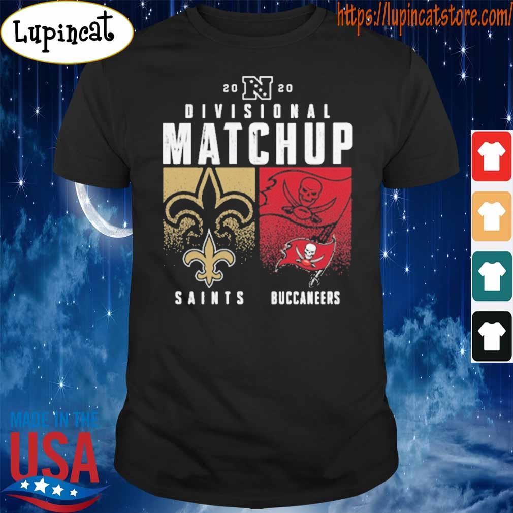 New Orleans Saints VS Tampa Bay Buccaneer 2020 Nfl Playoffs Divisional Matchup tee shirt