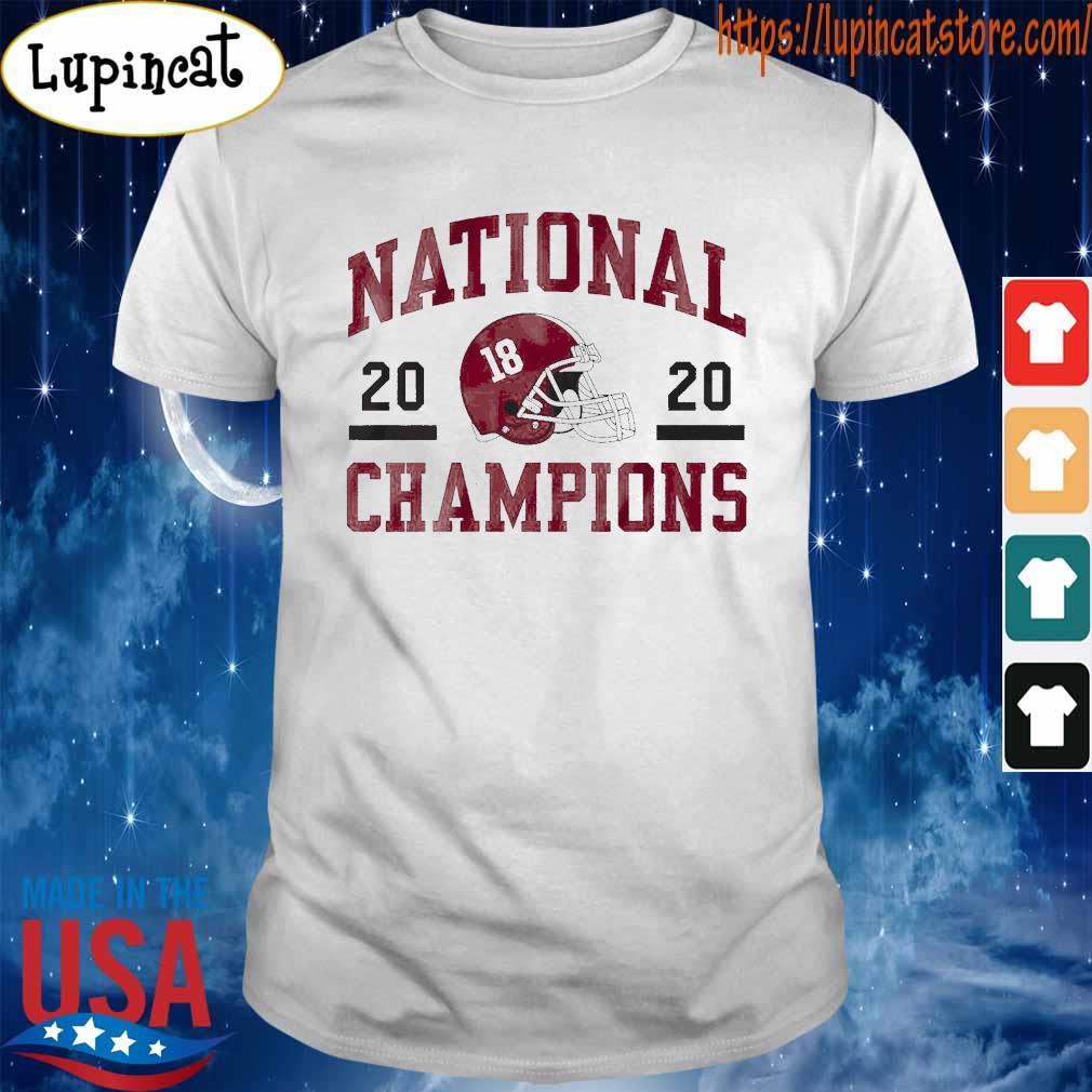Official 18 Alabama Crimson Tide national champions 2020 tee shirt