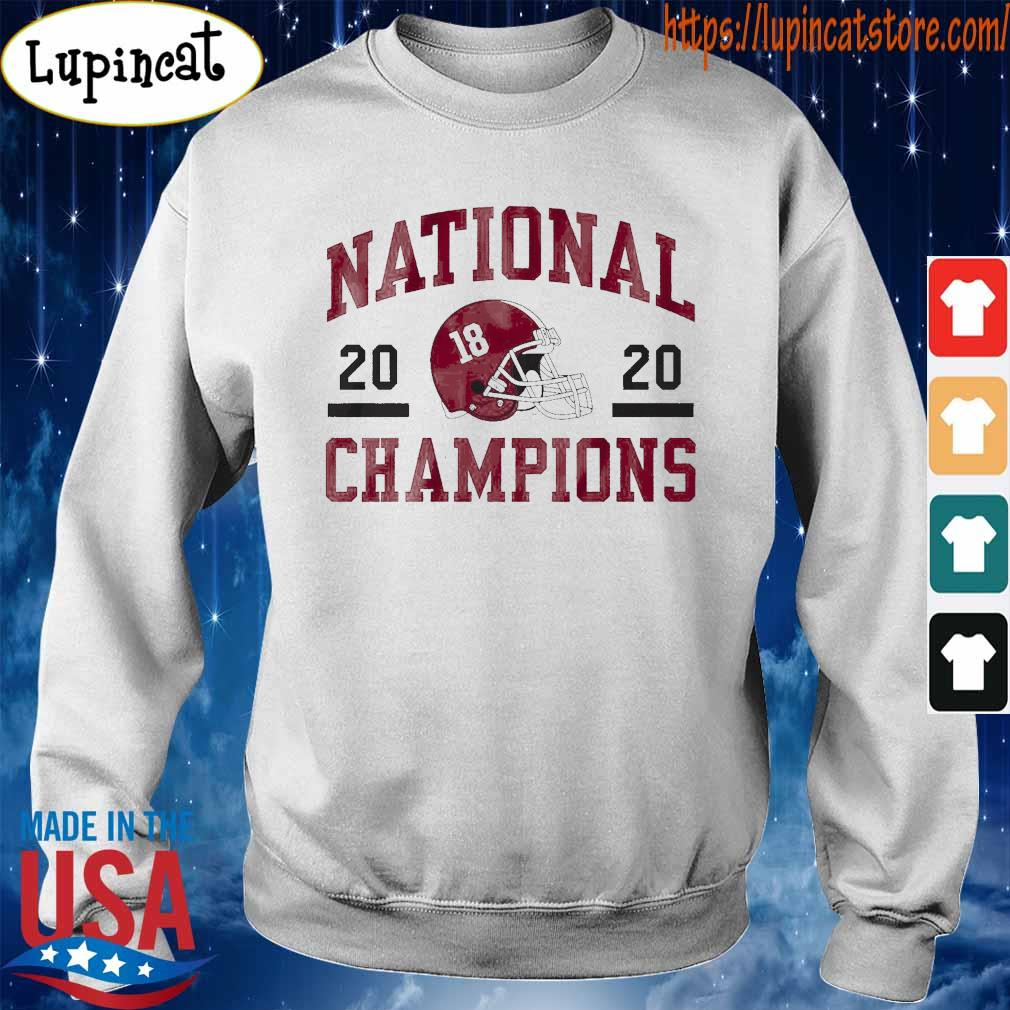 Official 18 Alabama Crimson Tide national champions 2020 tee s Sweatshirt
